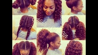 2 Part VERTICAL Versatile Sew-In NYC