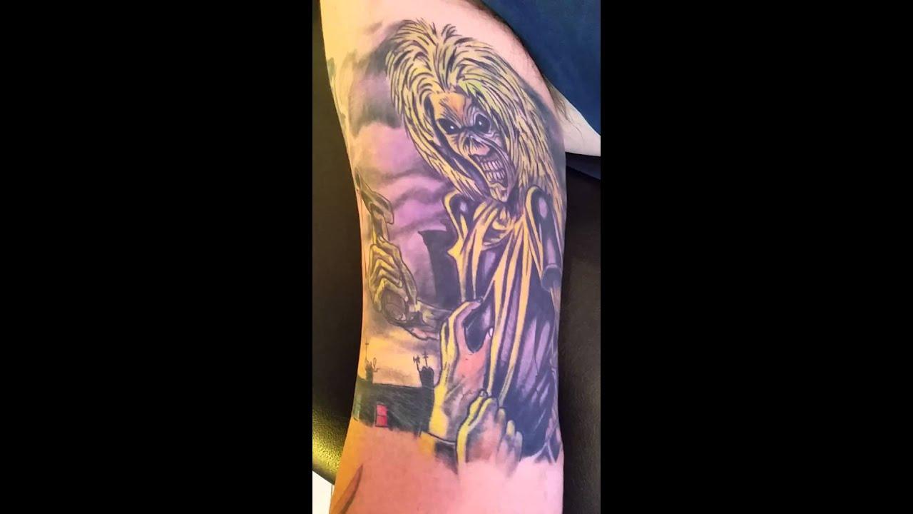 INKstruktor77: Somewhere in time by Iron Maiden | Tattoos ...  |Iron Maiden Somewhere In Time Tattoo