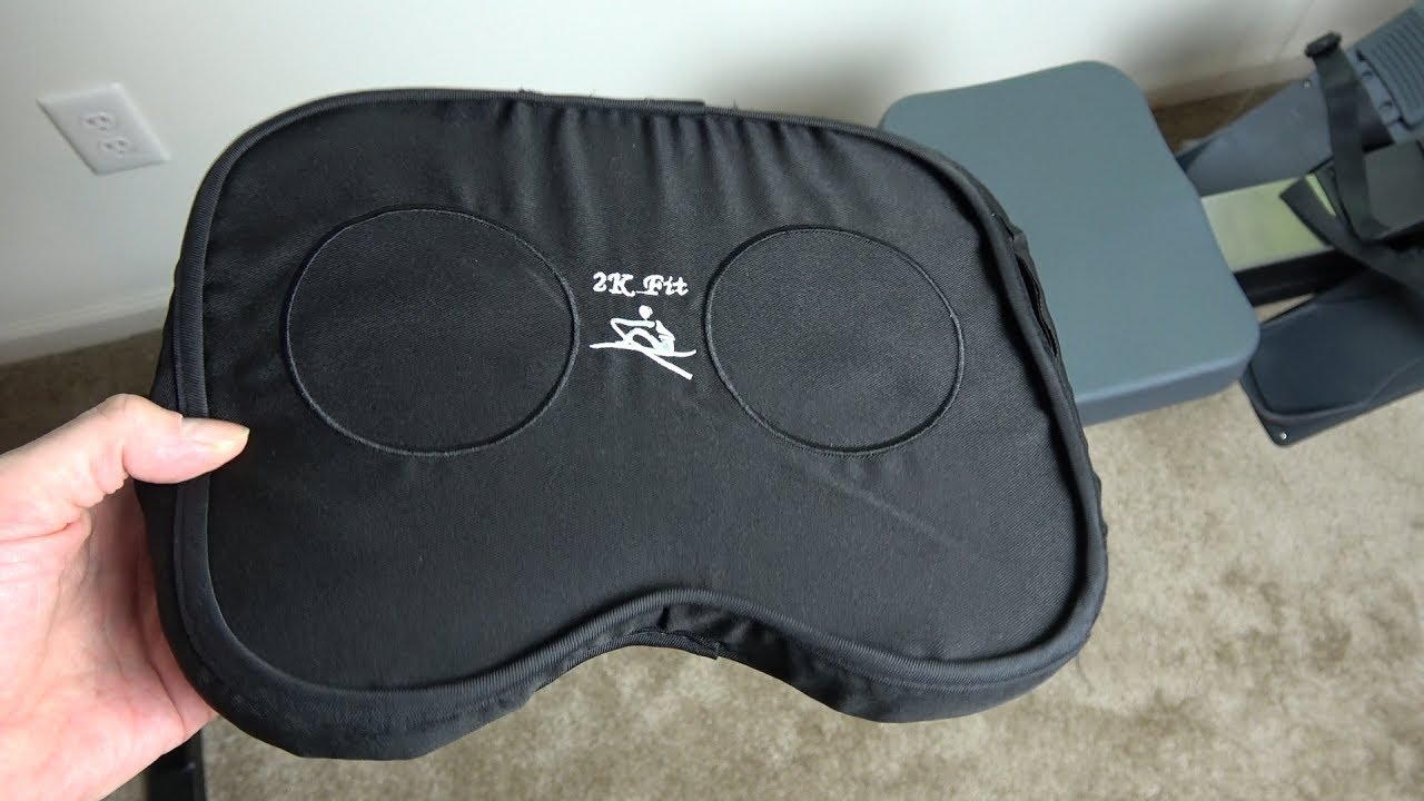 Concept 2 Model E >> 2K Fit Seat cushion / pad for Concept 2 Rowing machine - model D or E - YouTube