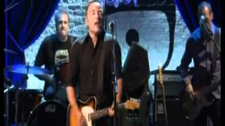 radio nowhere and radio radio - bruce springsteen & elvis costello