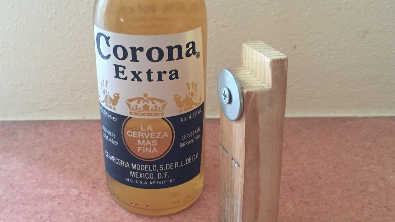How To Make A Minimalistic Style Bottle Opener Diy Home Tutorial Guidecentral