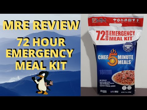 MRE Review 72 hour Emergency Meal Kit from YouTube · Duration:  21 minutes 49 seconds