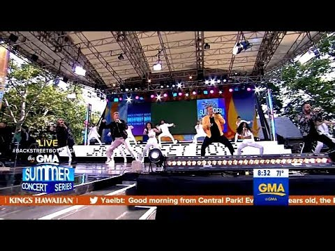 Backstreet Boys Perform