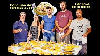 Concurso de tortillas. Sandoval de la Reina. Verano de 2016.