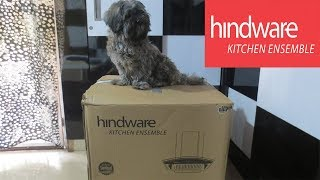Unboxing:Hindware Nevio 60/90 Auto Clean Wall Mounted Chimney (1200 m3/h ,Silver)