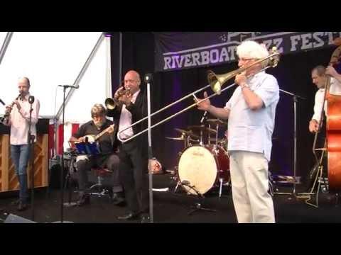 Doc Houlind`s Revival All Stars (DK) One Night Riverboat Jazz Festival Silkeborg 25.06.2016