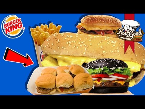 Les Pires Produits BurgerKing !