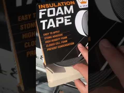 ¿Qué es una cinta de espuma y cuáles son sus usos? (Cinta Foam/Rubatex)