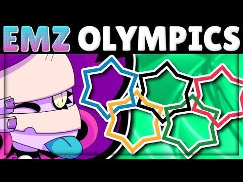 EMZ OLYMPICS! | How does Emz do in EVERY Test?! | New Brawler Emz
