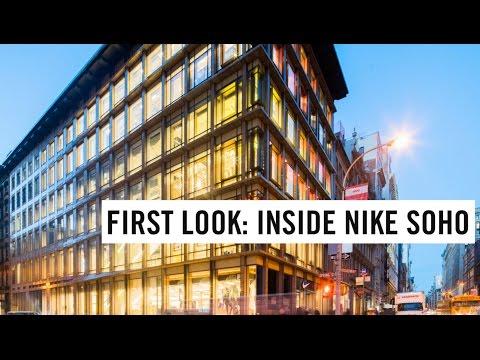 Inside Nike Soho
