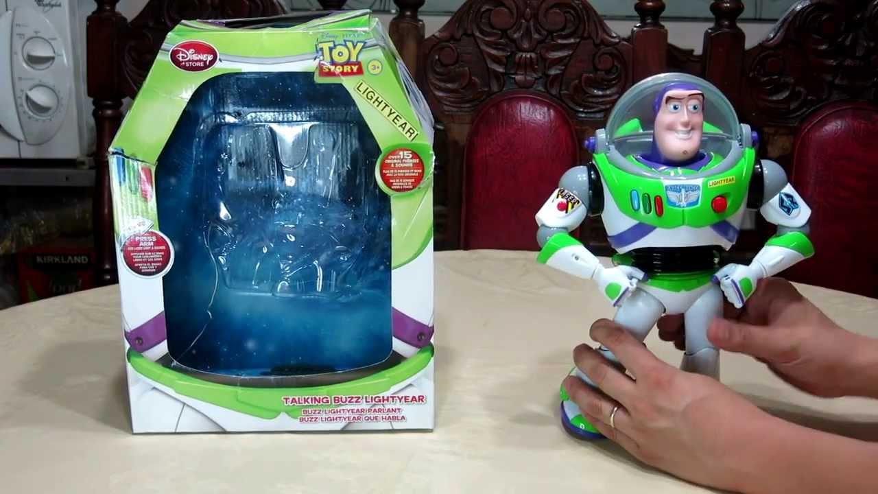 Disney Toy Story Buzz Lightyear Talking Action Figure 12 inch