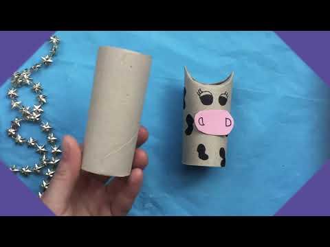 ☆ DIY: rolki po papierze toaletowym ☆ Co można zrobić z papieru ...