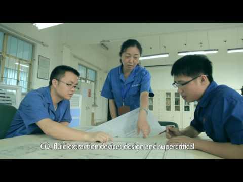 The SCFE plant  video of Aerospace Wujiang