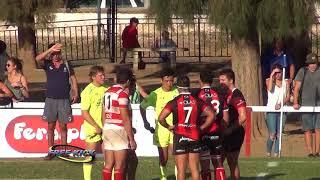 Torneo Oficial de Rugby Cordobés 2018  - Fecha 1 - Universitario 8   Jockey C C  49
