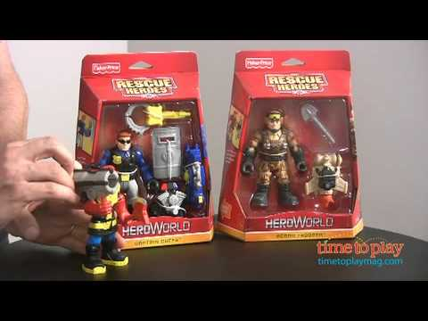 Rescue Heroes: Hero World From Fisher-Price