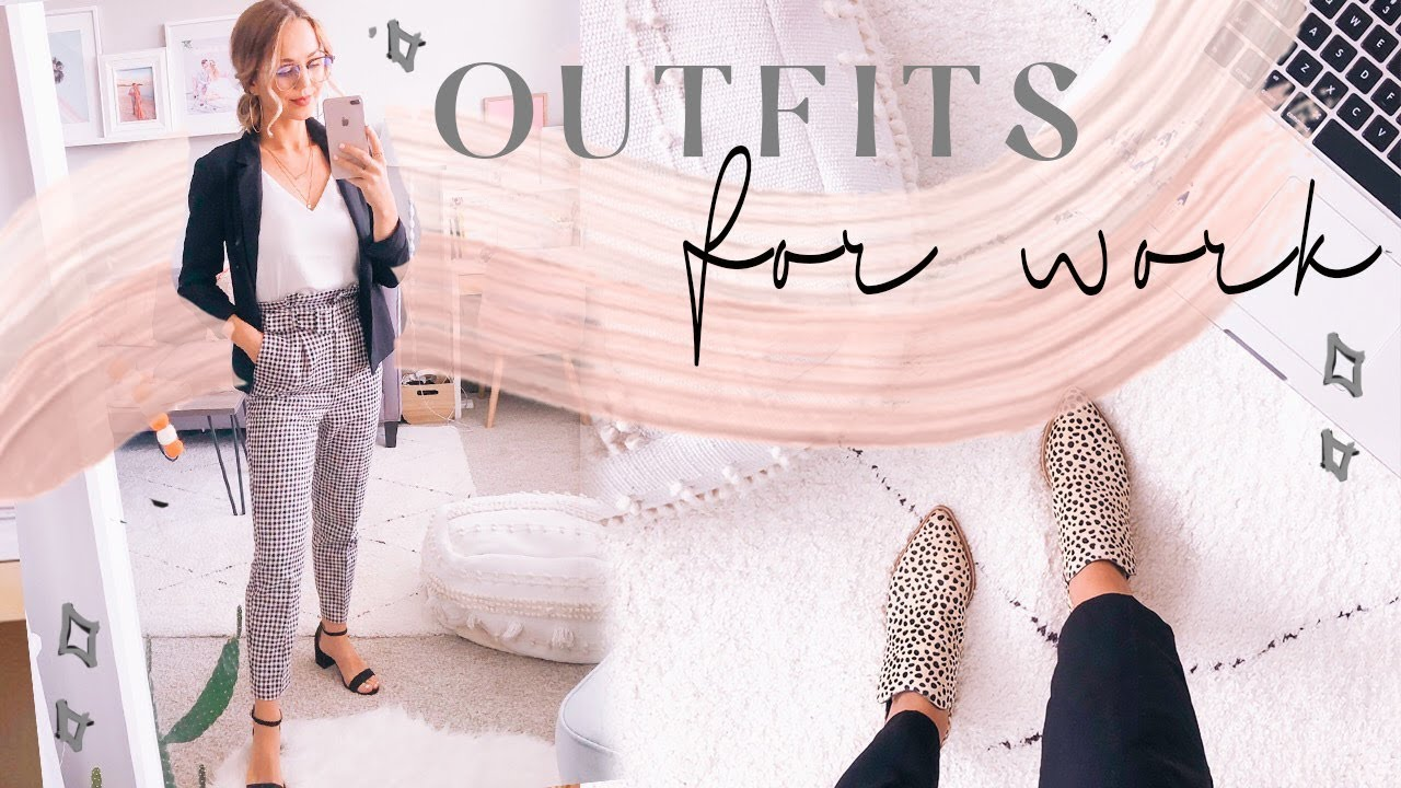 [VIDEO] - OUTFITS OF THE WEEK FOR WORK | Business casual​ outfit ideas! ✨ 4