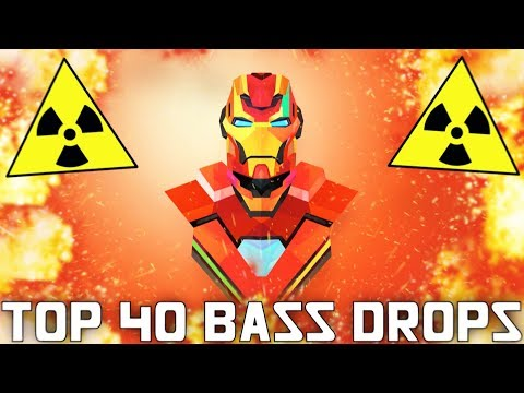 TOP 40 EXTREME BASS DROPS MIX (BASS BOOSTED MIX 2018)