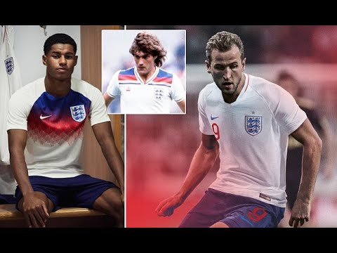 England's World Cup 2018 home and away kits unveiled