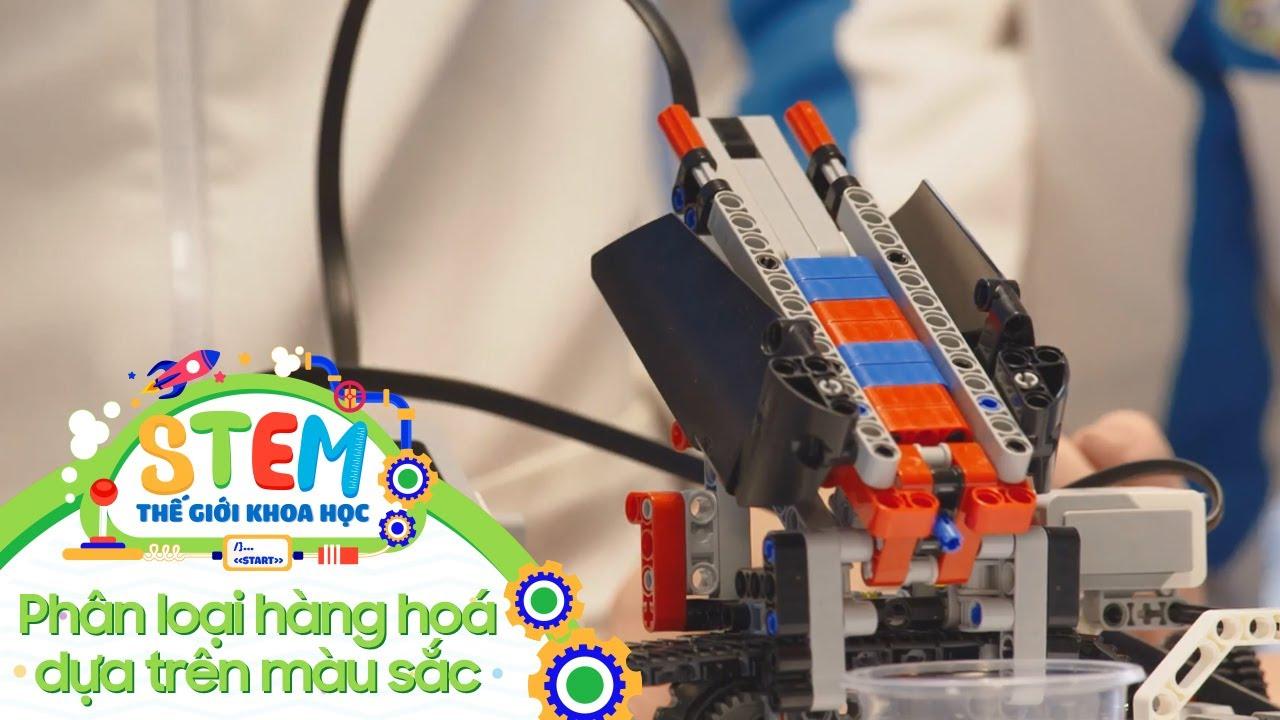 STEM Thế Giới Khoa Học - Tập 11: Phân Loại Hàng Hóa Dựa Trên Màu Sắc