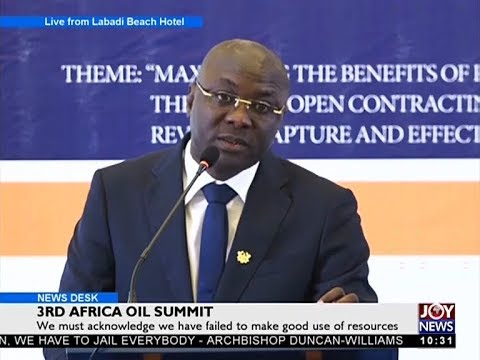 3rd Africa Oil Summit - News Desk on Joy News (13-11-17)