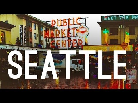 Seattle City Travel | Pike Place Market, Olympic Park & Space Needle Tour
