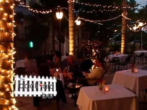 backyard bar at hibiscus house  west palm beach, fl  localdines, Beach House/