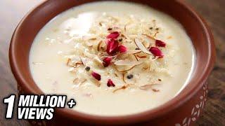 Rice Kheer Recipe  How To Make Chawal Ki Kheer At Home  The Bombay Chef - Varun Inamdar