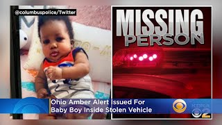 Ohio Amber Alert Issued For Alpha Kamara, Baby Boy Inside Stolen Vehicle