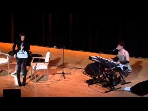 Amanda Palmer & Kat Robichaud  Delilah Dresden Dolls