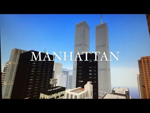 MANHATTAN | Minecraft New York City Map