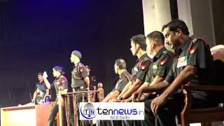 HOT SCENES OF COURT MARTIAL PLAY DIRECTED BY ARVIND GAUR AT BIMTECH GREATER NOIDA