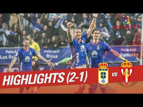Resumen de Real Oviedo vs Sporting de Gijón (2-1)