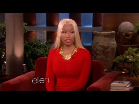 Nicki Minaj Talks Mariah Carey on Ellen!