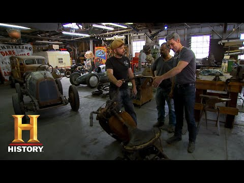 American Pickers: Mike Sells His Partially Restored Indian Four Cylinder (S18, E1) | History
