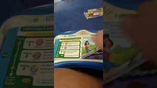2003 Leapfrog Little Touch Leappad Learning System With One Bear In The Bedroom Cartridge Book + AC