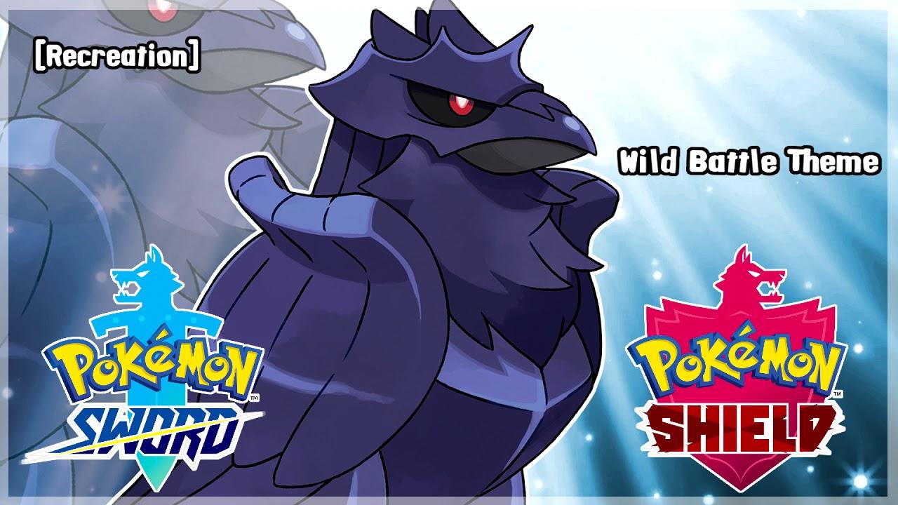 Pokemon Sword Shield Wild Battle Theme Hq Recreation Youtube