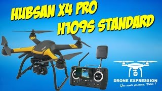 PRESENTATION UNBOXING REVIEW FLIGHT TEST FRENCH HUBSAN H109S X4 PRO + GIMBAL HAKRC Storm32 GEARBEST