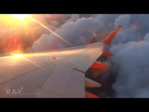 STUNNING SUNRISE! easyJet Airbus A320-214 | Liverpool to Amsterdam | U27001 | Trip Report