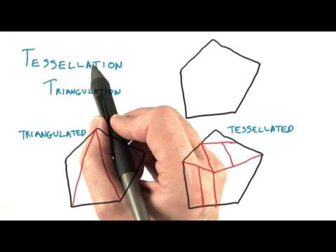 Triangulation and Tessellation - Interactive 3D Graphics