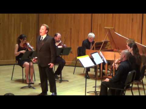Gene Stenger, tenor singing from Radamisto in the 2017 Handel Aria Competition