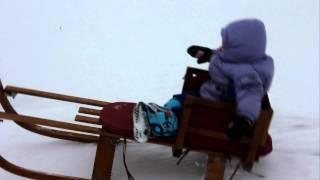 Sadie sledding 1-13-12.MOV Thumbnail