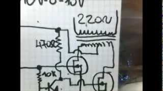 Repeat youtube video Inverter 12V DC - 220V AC. Con Ne555!!!