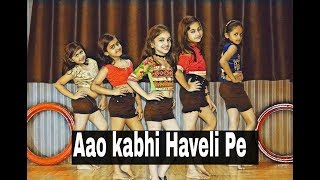 Aao Kabhi Haveli Pe//Stree// Children Dance Choreography