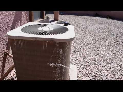 Preventive Maintenance Coil Cleaning HVAC Home A/C Unit