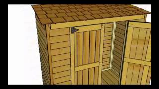 6x3 Grand Garden Chalet Cedar Shed Assembly Video from Outdoor Living Today