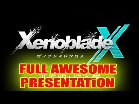Xenoblade Chronicles X  - AWESOME 24 Minutes Presentation