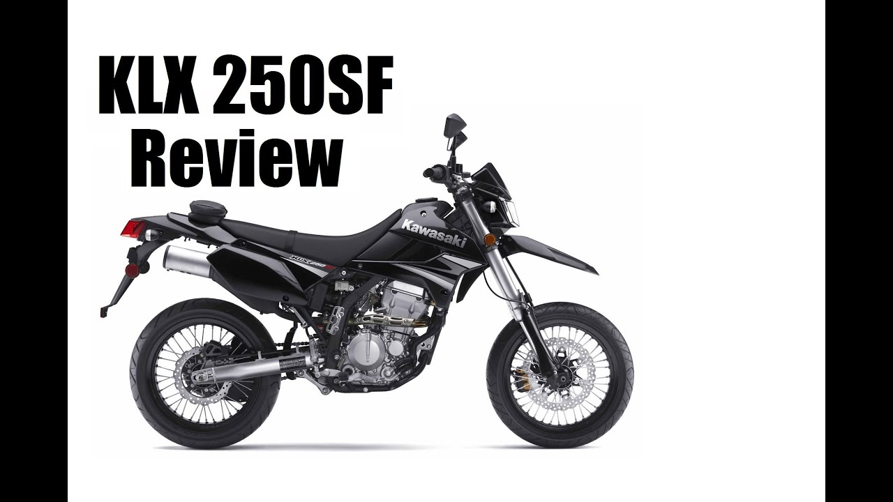 KLX250sf Full Review (SuperMoto) - YouTube