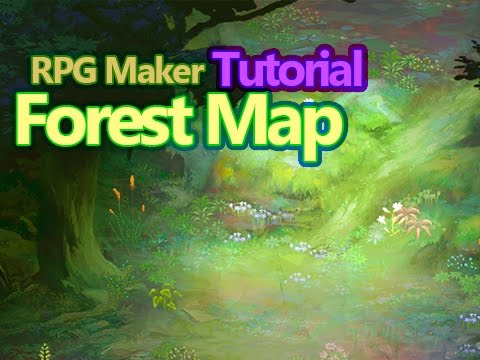 Map making with RPG Maker and Photoshop