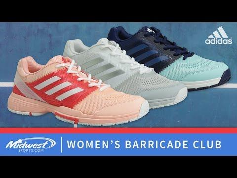 d7c4269fd7 adidas Women's Barricade Club - YouTube