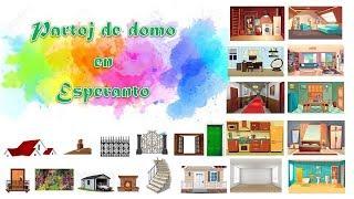 [Bildvortaro] Partoj de domo en Esperanto